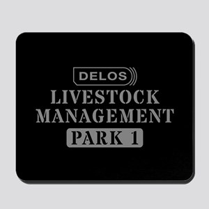 Westworld Livestock Management Mousepad