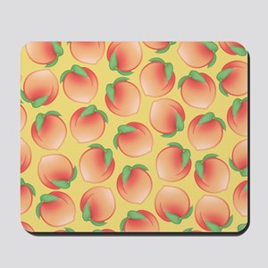 Cute Peach Pattern Mousepad