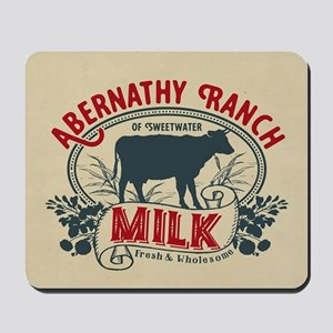 WW Abernathy Ranch Milk Mousepad