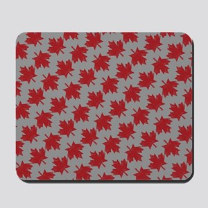 Canadian Maple Pattern Mousepad