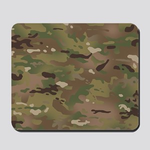 Military Camouflage Pattern Mousepad