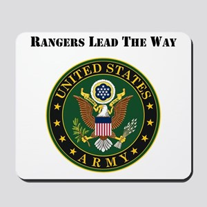 Army Rangers Lead The Way Mousepad