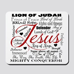 The Name of Jesus Mousepad