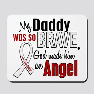 Angel 1 DADDY Lung Cancer Mousepad