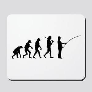 The Evolution Of The Fisherman Mousepad