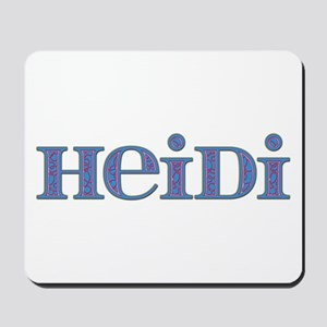 Heidi Blue Glass Mousepad