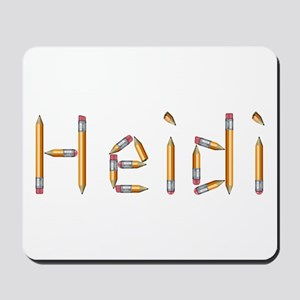 Heidi Pencils Mousepad