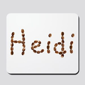 Heidi Coffee Beans Mousepad