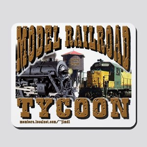 Train -Mousepad - Model RR Tycoon