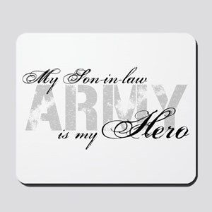 Son-in-law is my Hero ARMY Mousepad