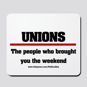 Union Weekend Mousepad