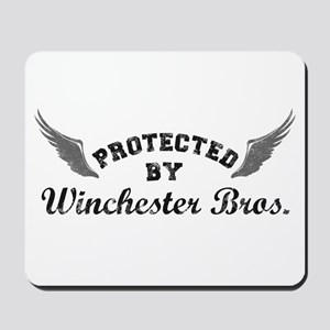 SUPERNATURAL Winchester Bros. gray Mousepad
