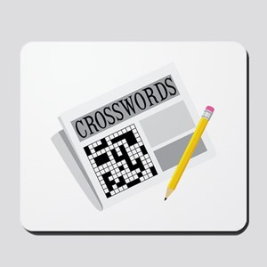 Crosswords Mousepad