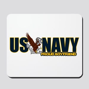 Navy Boyfriend Mousepad
