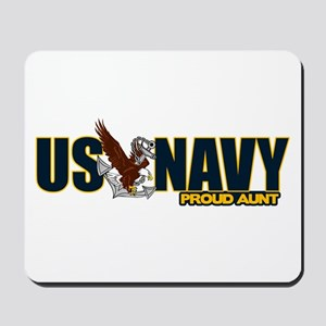 Navy Aunt Mousepad