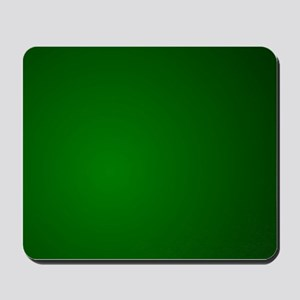 Hunter Green gradient Mousepad