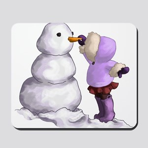 Snow Friend Mousepad