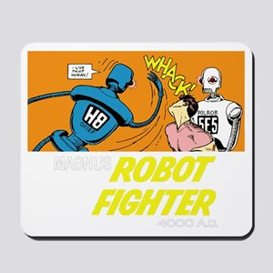 Magnus Robot Fighter Mousepad
