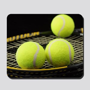 Tennis Balls And Racquet Mousepad