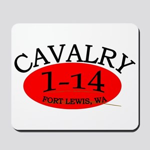 1st Squadron 14th Cavalry Mousepad