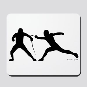 Fence! Mousepad