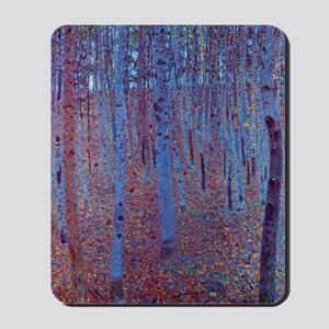 Beech Forest by Gustav Klimt Mousepad