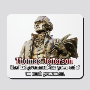 Thomas Jefferson founding father Mousepad