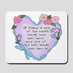 Friendship Heart 1 Mousepad