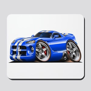 Viper GTS Blue Car Mousepad