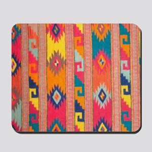 Indian Blanket 4 Mousepad