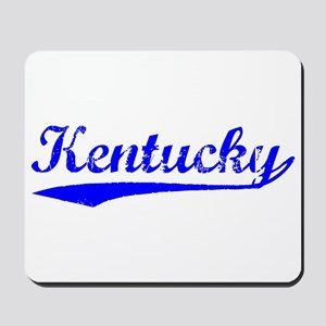 Vintage Kentucky (Blue) Mousepad