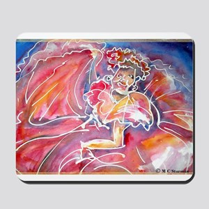 Fiesta, Dancer, fun, Mousepad