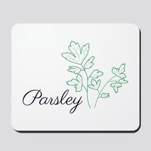 Parsley Plant Mousepad