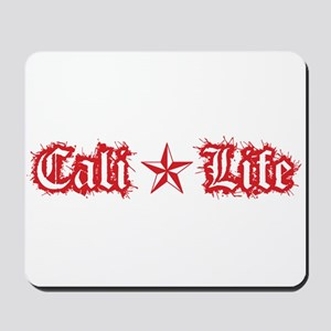 cali life 1a red Mousepad
