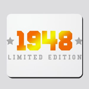 Limited Edition 1948 Birthday Mousepad