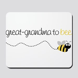 great grandma to be t-shirt Mousepad