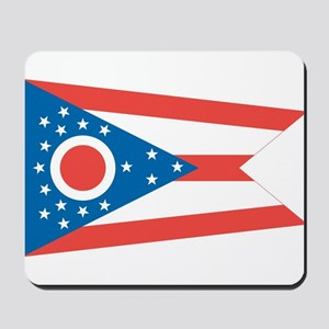 Ohio State Flag Mousepad