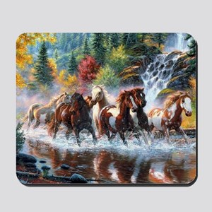 Wild Creek Run Mousepad
