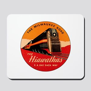Milwaukee Road Passenger Train Mousepad