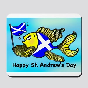 Happy St. Andrews Day Mousepad