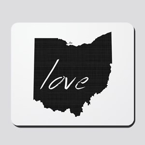 Love Ohio Mousepad