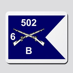 B Co. 6/502nd Mousepad