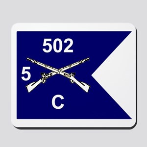 C Co. 5/502nd Mousepad