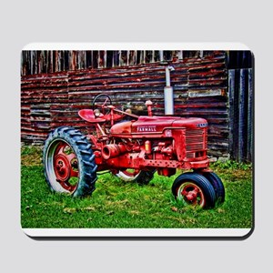 Red Tractor HDR Style Mousepad