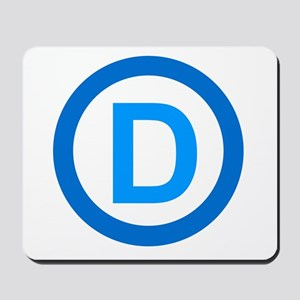 Democratic D Design Mousepad