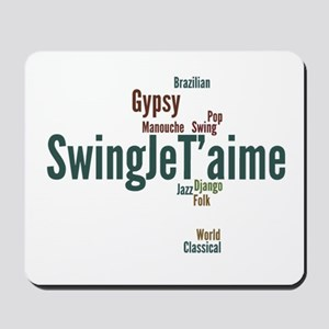 Swing Je T'aime (general) Mousepad