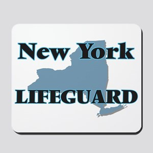 New York Lifeguard Mousepad