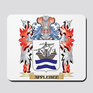 Applebee Coat of Arms - Family Crest Mousepad