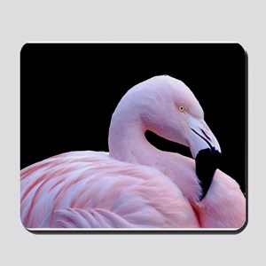 Pink Flamingo Mousepad