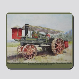 The Minneapolis Steam Tractor Mousepad